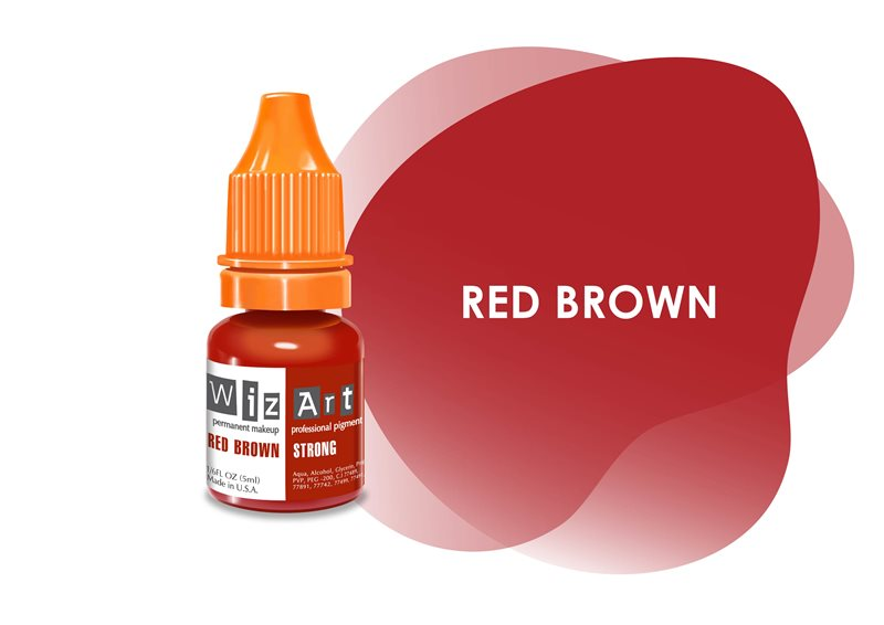 RED BROWN Strong WizArt 10ml