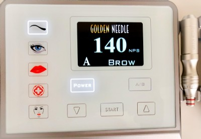 Golden Needle touch white